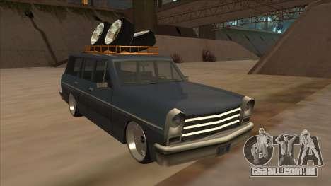 New Peren Hellaflush para GTA San Andreas