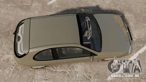 Daewoo Lanos FL 2001 para GTA 4 vista direita