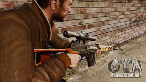 Dragunov sniper rifle v4 para GTA 4