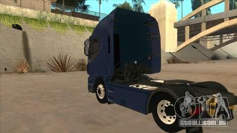 Iveco Stralis HI-WAY para GTA San Andreas vista direita
