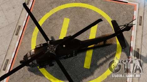 Sikorsky MH-60L Black Hawk para GTA 4 vista direita