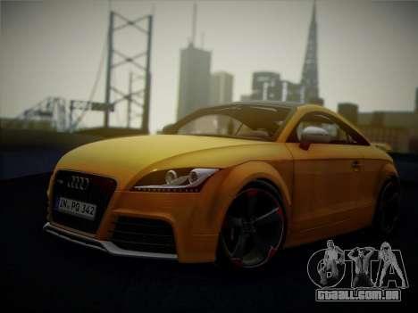 Audi TT RS 2013 para GTA San Andreas vista traseira