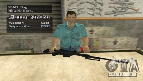 Full Weapon Pack para GTA San Andreas sexta tela