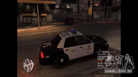 Police Pursuit Mod 7.5d para GTA 4