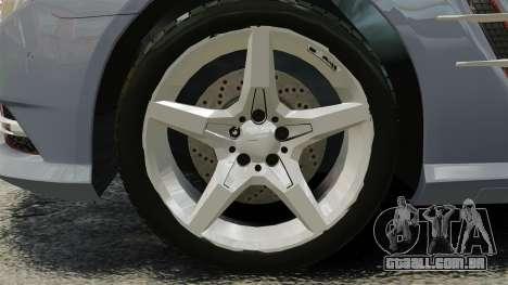 Mercedes-Benz SL500 2013 para GTA 4 vista de volta