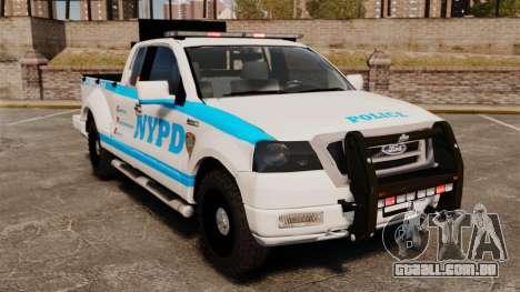 Ford F-150 v3.3 NYPD [ELS & EPM] v2 para GTA 4