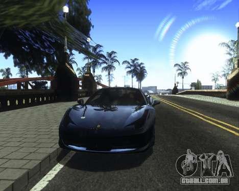 ENB for low PC v2 para GTA San Andreas sexta tela
