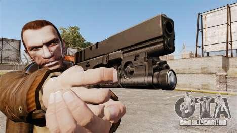 Pistola Glock 20 para GTA 4 por diante tela