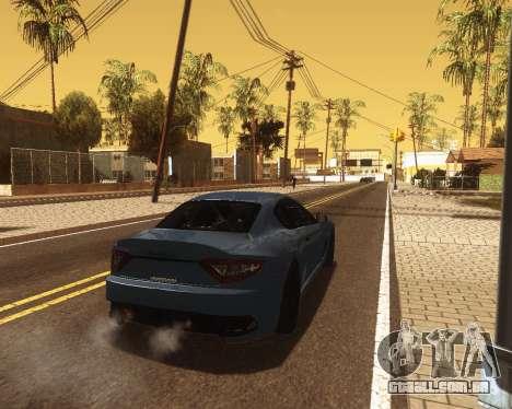 ENB for low PC v2 para GTA San Andreas quinto tela
