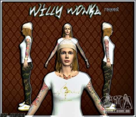 Willy Wonky para GTA San Andreas