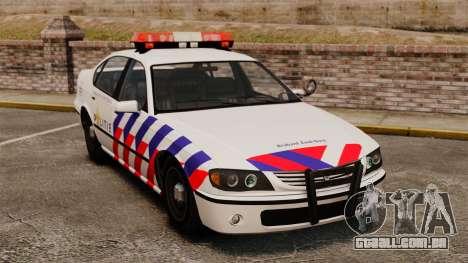 Polícia holandesa para GTA 4