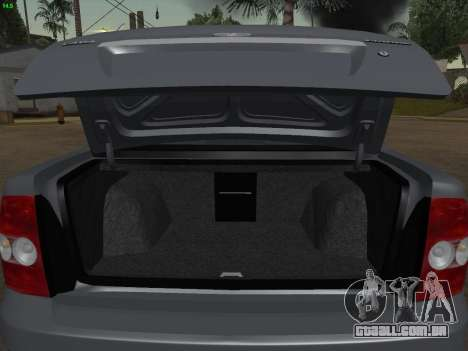 VAZ-2170 para o motor de GTA San Andreas