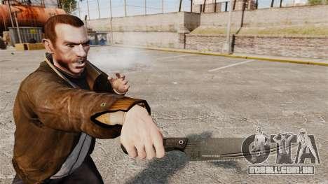 Faca de cozinha H & K para GTA 4