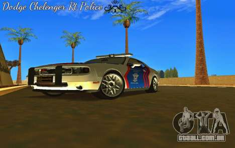 Dodge Challenger Indonesian Police para GTA San Andreas