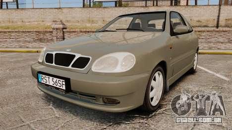 Daewoo Lanos FL 2001 para GTA 4