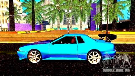Elegy Dorifto Tune para GTA San Andreas