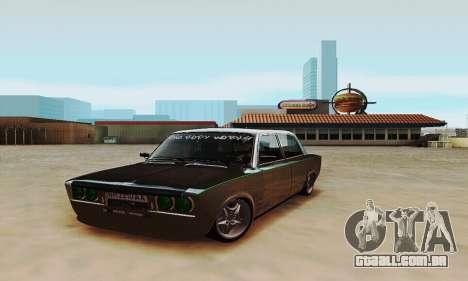 VAZ 2106 Zielonka para GTA San Andreas