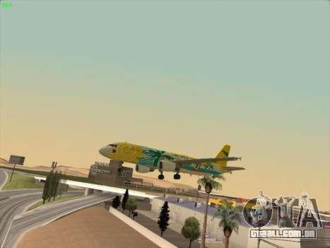 Airbus A320-211 Cebu Pacific Airlines para o motor de GTA San Andreas