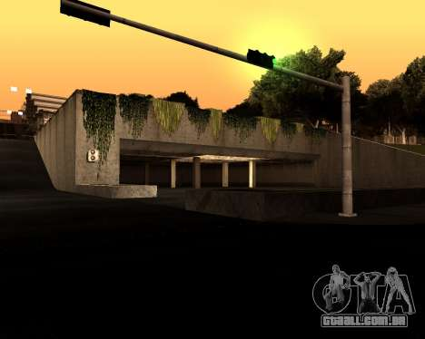 Satanic Colormode para GTA San Andreas quinto tela