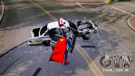 Script para o Super-homem para GTA 4 por diante tela