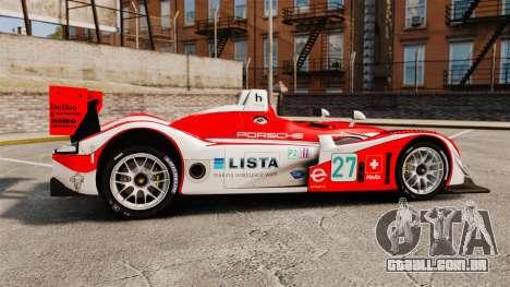 Porsche RS Spyder Evo para GTA 4 esquerda vista
