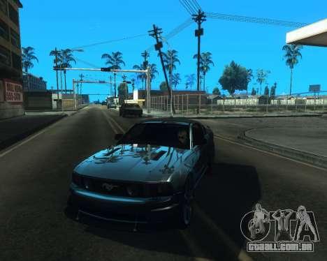 ENB for low PC v2 para GTA San Andreas por diante tela