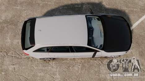 Audi RS4 Avant 2013 Sport v2.0 para GTA 4 vista direita