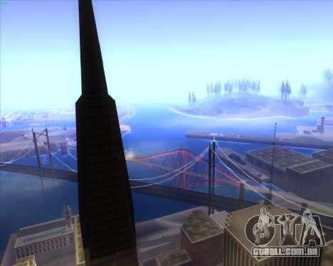 ENBSeries by MatB1200 para GTA San Andreas segunda tela