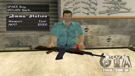 Full Weapon Pack para GTA San Andreas quinto tela