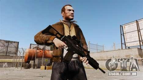 Fuzil de assalto HK G36k para GTA 4