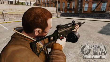 Fuzil de assalto MG36 H & K v2 para GTA 4 segundo screenshot