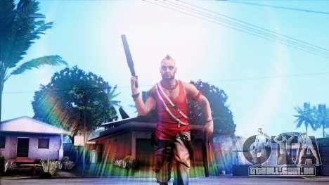 SA::Crown para GTA San Andreas segunda tela