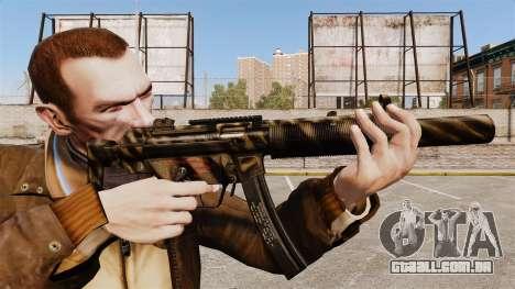 MP5SD metralhadora v7 para GTA 4