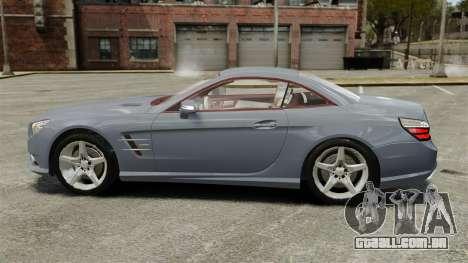 Mercedes-Benz SL500 2013 para GTA 4 esquerda vista