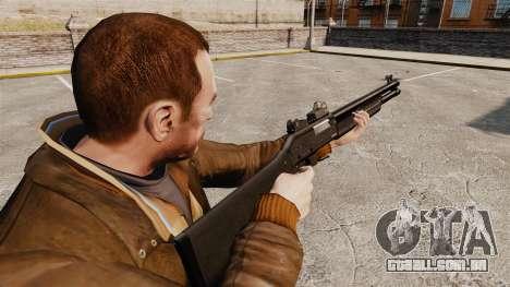 Tática espingarda Fabarm SDASS forças Pro v4 para GTA 4 segundo screenshot