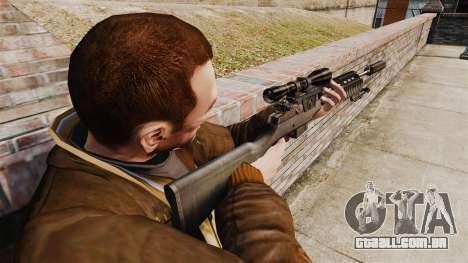 M21 sniper rifle v1 para GTA 4 segundo screenshot