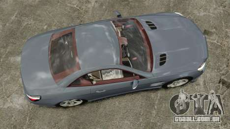 Mercedes-Benz SL500 2013 para GTA 4 vista direita