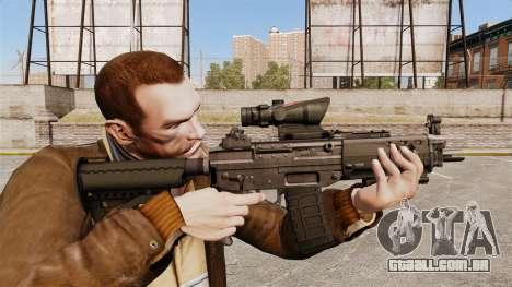 O fuzil SIG 552 para GTA 4