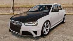 Audi RS4 Avant 2013 Sport v2.0 para GTA 4