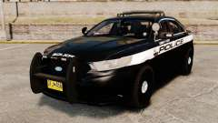 Ford Taurus Police Interceptor 2013 LCPD [ELS] para GTA 4