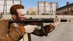 Pistola-metralhadora MP5SD V6 para GTA 4