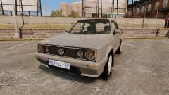 Volkswagen Citi Golf Velociti 2008 para GTA 4