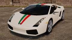 Lamborghini Gallardo 2005 [EPM] Italian para GTA 4