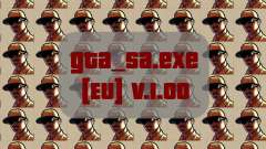 Original arquivo gta_sa.exe [UE] v. 1.00 para GTA San Andreas