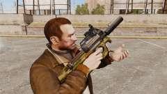 V5 de pistola-metralhadora belga FN P90
