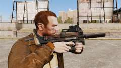 V1 de pistola-metralhadora belga FN P90