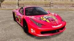 Ferrari 458 Spider Pink Pistol 027 Gumball 3000