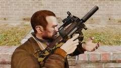 V6 de pistola-metralhadora belga FN P90