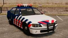 A polícia militar holandês