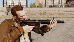 MP5SD metralhadora v5 para GTA 4